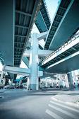 Viaduct pillar — Stock Photo
