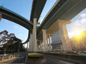 Viaduct at morning — Stock Photo