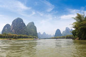 Beautiful lijiang river in guilin — Zdjęcie stockowe