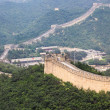 Royalty-Free Stock Photo: Badaling great wall,crossroad town