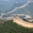 Badaling great wall,crossroad town - Stock Photo
