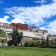 Lhasa potala palace — Stock Photo