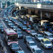 Stock Photo: Automobile congestion in rush hour
