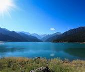 天堂湖在阳光下 — 图库照片
