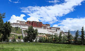 Lhasa potala palace — Stock Photo