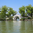Stone arch bridge in guilin — Stock Photo #18031439