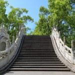 Chinese traditional stone arch bridge — Stock Photo