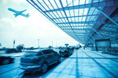 Airport outside — Stock Photo