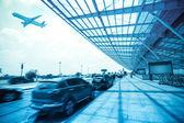 Luchthaven buiten — Stockfoto