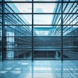 Stock Photo: Modern window in office building
