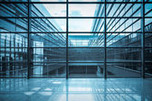 Modern window in the office building — Stock Photo