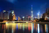 Night shanghai — Stock Photo