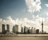 Pier bund nord à shanghai — Photo