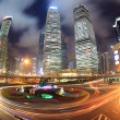 Shanghai downtown at night — Stock Photo #18126105