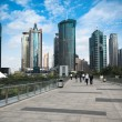 Modern cityscape in shanghai — Stock Photo