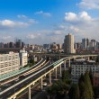 Stock Photo: Grade separation bridge in shanghai