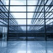 Window and glass curtain wall - Stock Photo