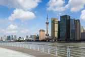 Shanghai riverside scenery — Stock Photo