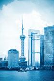 Shanghai blue scenery — Stock Photo