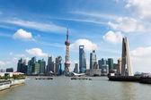 Krásná v šanghaji ve dne — Stock fotografie