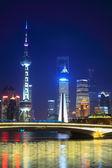 Prachtige nacht shanghai — Stockfoto