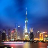 Night shanghai skyline — Stock Photo