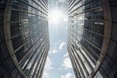 Modern building under the sky — Stock Photo