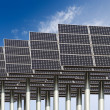 Solar energy background — Stock Photo