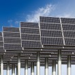 Foto Stock: Solar energy background