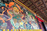 Alte buddhistische wandmalerei — Stockfoto