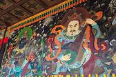 古代佛教壁画 — 图库照片
