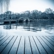 The west lake scenery in hangzhou — Stock Photo