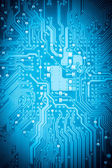 Circuit board closeup — Stock Photo