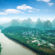 Beautiful yangshuo landscape - Stock Photo