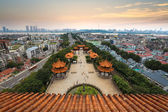 Wuhan city panorama — Stock Photo