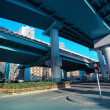 Stock Photo: Elevated expressway in shanghai