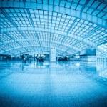 Modern hall in beijing capital international airport — Stock Photo