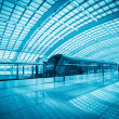 Modern airport express train in beijing — Stock Photo #24236125