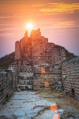The great wall in sunrise — Stock Photo