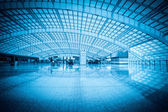 Modern hall in beijing capital international airport — Stock Photo