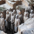 Terracotta warriors of xian - Stock Photo