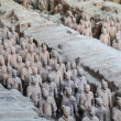 China's terracotta army - Foto Stock