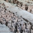 China's terracotta army - Stock Photo