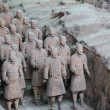 Terra-cotta warriors — Stock Photo