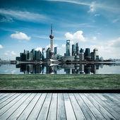 šanghaj panoráma — Stock fotografie