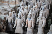 Xian terracotta warriors — Stock Photo