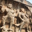 Stock Photo: Longmen grottoes buddhstatue