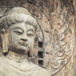 closeup of the locana buddha — Stock Photo