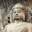 locana buddha statue closeup — Stock Photo