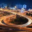 Interchange at night — Stock Photo